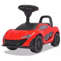 vidaXL Voiture à chevaucher McLaren P1 Rouge