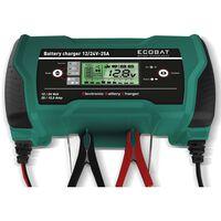ECOBAT Chargeur de batterie 12/24 V 25 A