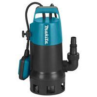 Makita Pompe électrique submersible 1100 W Bleu et noir