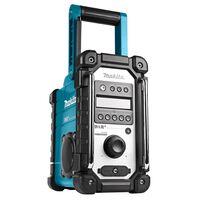 Makita Radio de construction sans batteries et chargeur Bleu et noir