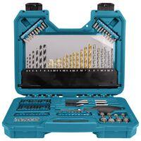 Makita Ensemble d'outils électriques 105 pcs PRO Métallique